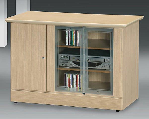 【尚品家具】628-01 白橡3尺電視櫃矮櫃儲櫃長櫃~另有胡桃柚木山毛色、2尺、4尺~