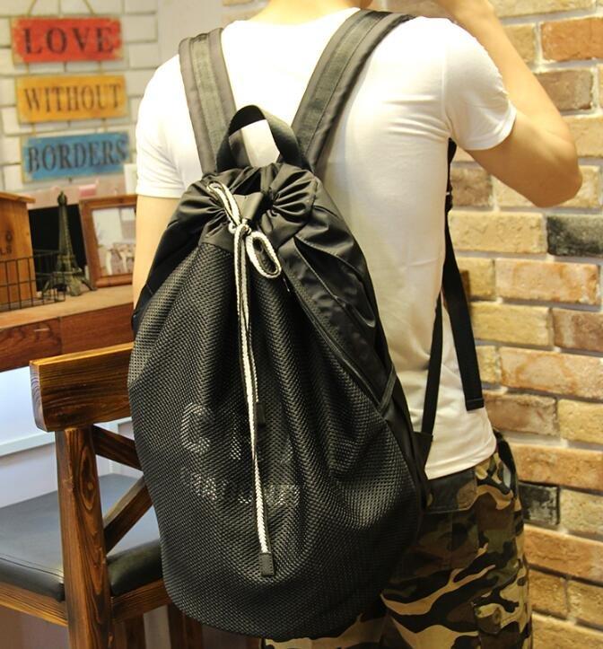 FINDSENSE Z1 韓國 時尚 潮 男 牛津布 防水 網面 校園 學生包 書包 後背包 雙肩包 電腦包