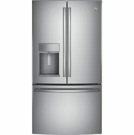 <br/><br/>  【零利率】GE 美國奇異  不銹鋼法式冰箱門 PFE28KSSS※熱線07-7428010<br/><br/>