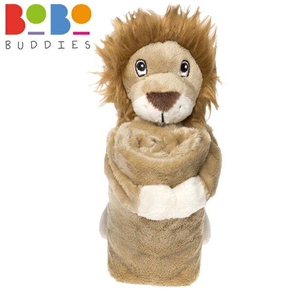 英國 BoBo Buddies 寶寶安撫巾 / 安撫玩偶 32x32cm - 獅子