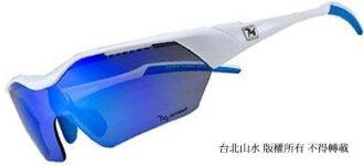 [ 720armour ] Hitman 極限 運動太陽眼鏡 (冠軍色限量款) 亮白框灰藍色多層鍍膜鏡片 T948B2-20-H
