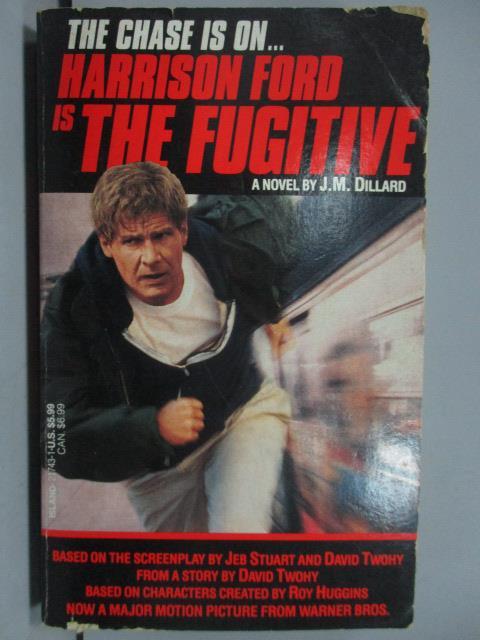 ~書寶 書T2/原文小說_JCH~Harrison Ford is the Fugitiv