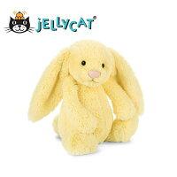 彌月禮盒推薦★啦啦看世界★ Jellycat 英國玩具 / 18公分黃小兔 玩偶 彌月禮 生日禮物 情人節 聖誕節 明星 療癒 辦公室小物
