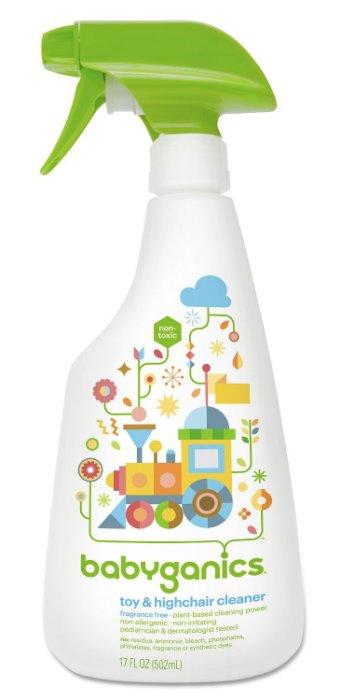 ~彤彤小舖~美國品牌 BabyGanics 玩具法寶 玩具桌椅清潔劑  無香味  17oz