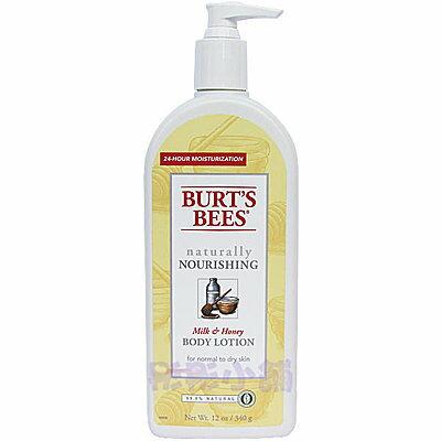 彤彤小舖】Burt s bees 蜜蜂爺爺-蜂蜜歐蕾保濕身體乳12oz(340g) 美國進口