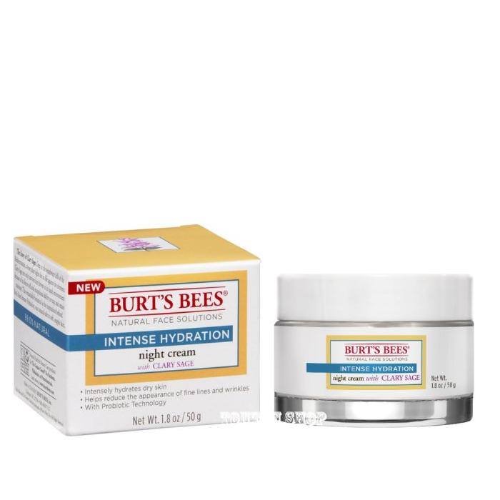 【彤彤小舖】Burt s bees 蜜蜂爺爺 水之初賦活晚霜 1.8oz /50g