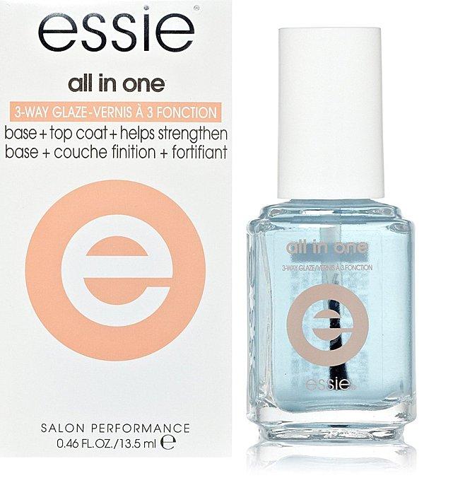 【彤彤小舖】Essie 3-Way Glaze 三合一護甲油 底油+亮油+硬甲三效合一 美國原廠