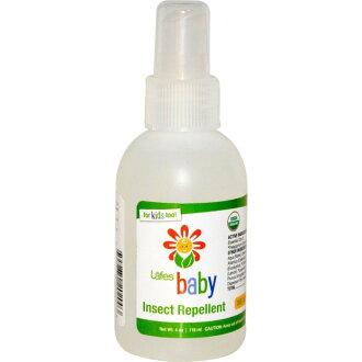【彤彤小舖】Lafes Organic Baby 純自然嬰兒防蚊液 118ml 美國進口