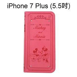 迪士尼施華洛世奇貼鑽皮套 [米奇米妮] iPhone 7 Plus (5.5吋)【正版授權】