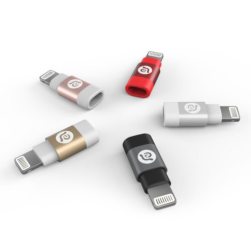 PeAk A1 Lightning 對 Micro USB 轉接器(紅色 8折價) 0
