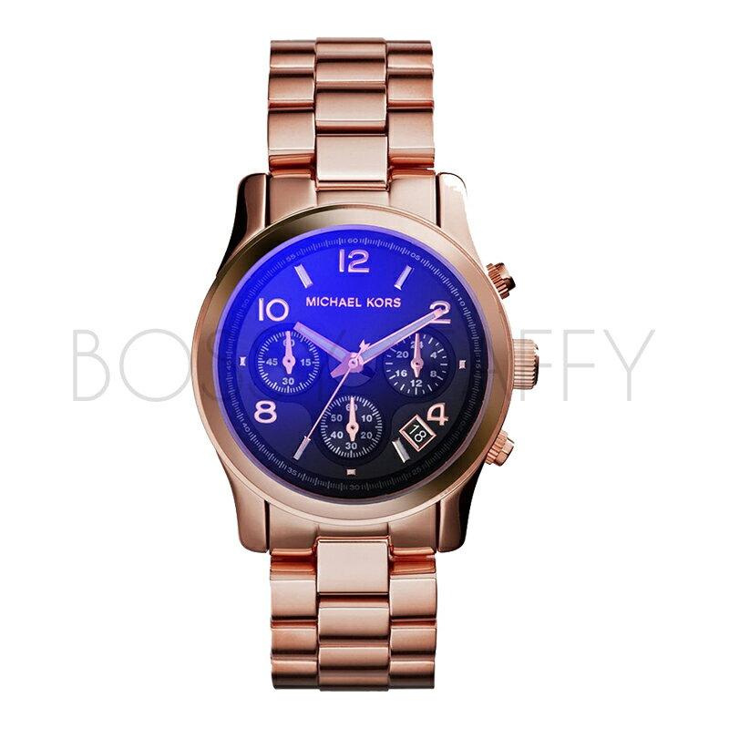 MK5940 MICHAEL KORS 三眼大錶盤時尚彩色女腕錶 手錶