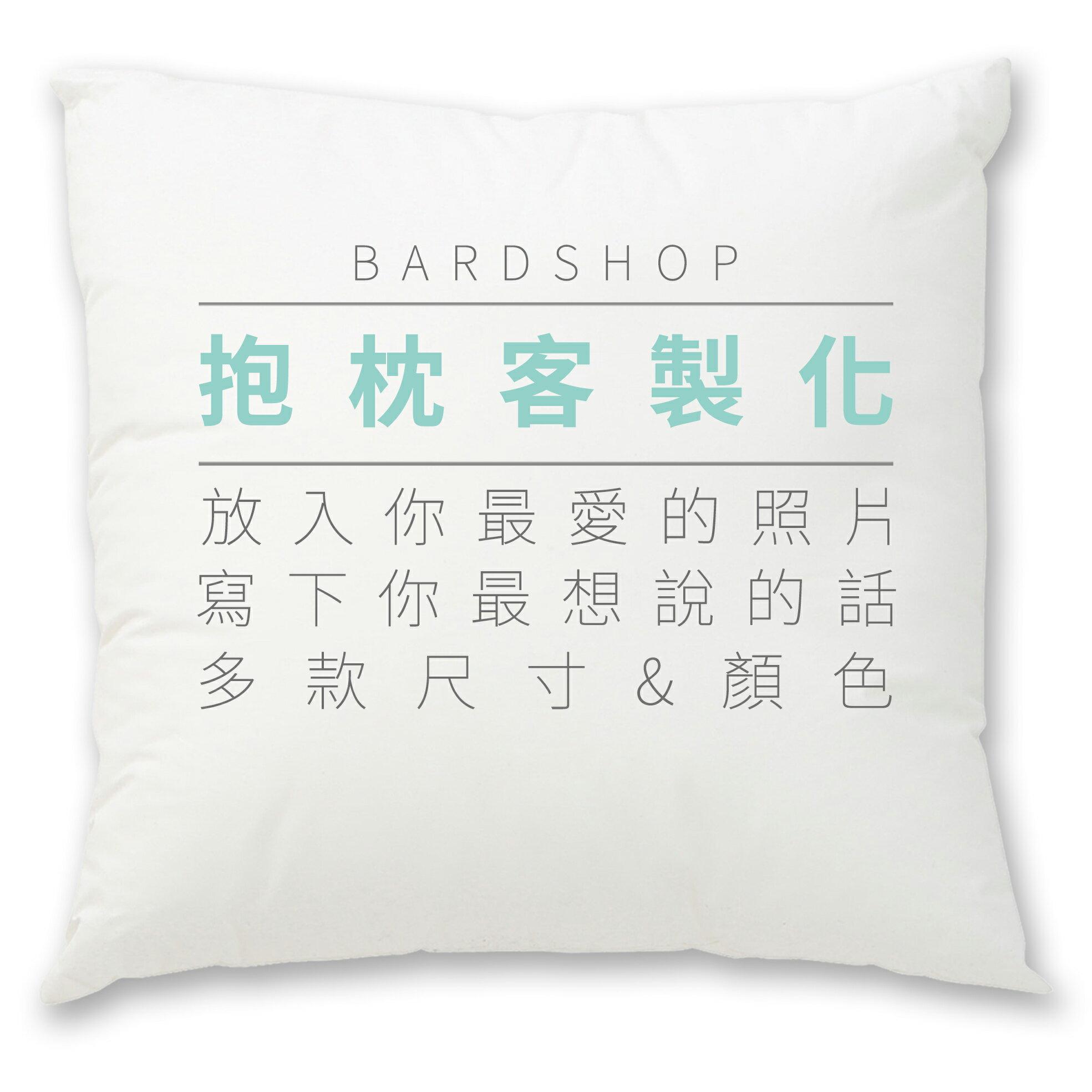 【客製圖案】Bardshop客製手工絨毛布抱枕-質感客製 DIY不再困難 工廠直營/無框畫/客製化/質感家具 0