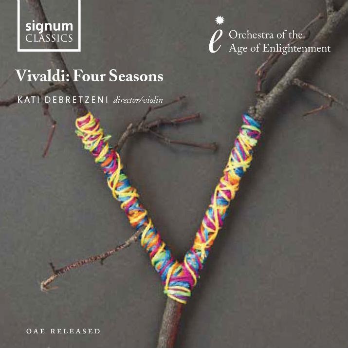 signum 德布瑞茲蘭妮(Kati Debretzeni)/維瓦第:「四季」小提琴協奏曲(Vivaldi:The Four Seasons)【1CD】