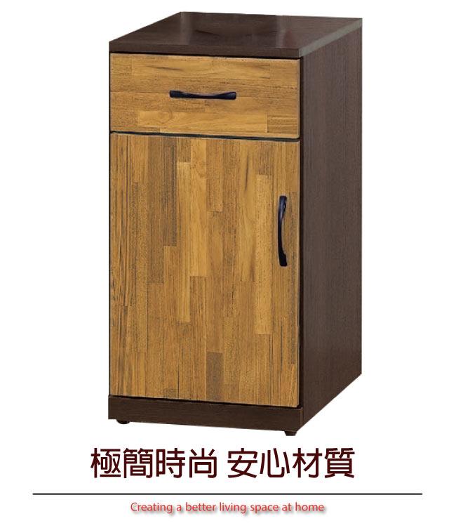 【綠家居】里莎 時尚1.3尺單門低鞋櫃/玄關櫃(二色可選)