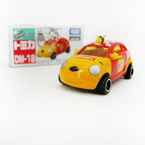 【真愛日本】13120600006 TOMY車-夢幻維尼車 迪士尼 小熊維尼 POOH 維尼熊 模型車 玩具車