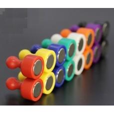 【磁釘】大號/特大號 超強力磁鐵圖釘 彩色強磁扣 圓形磁鐵 強力磁鐵 辦公教學繪畫吸鐵石 露營 白板