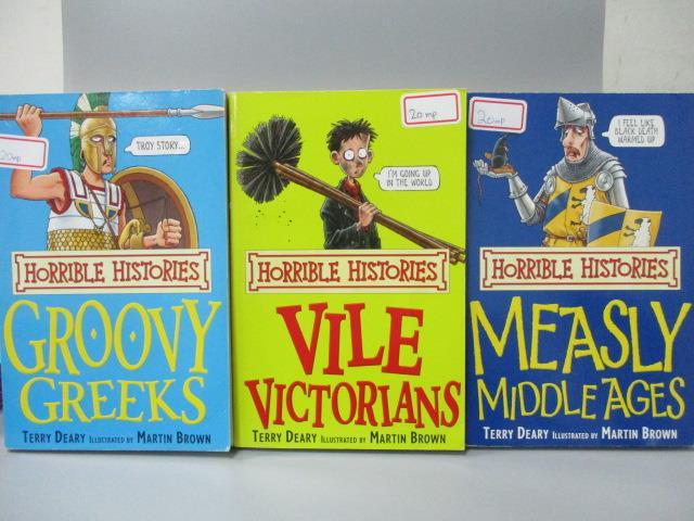 ~書寶 書T6/語言學習_OTW~Groovy Greeks_Vile Victorian