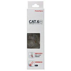 群加CAT.6透明水晶頭^(2件^)式20入