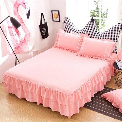 【夏日上新】床裙單件床罩純棉韓版床笠床罩床單1.5米1.8米2.0m床防滑保護套