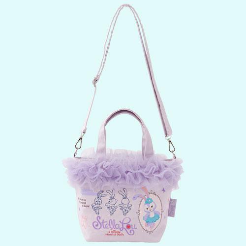 尼德斯Nydus 日本 東京迪士尼海洋限定 達菲熊 Duffy 史黛拉兔 Stella Lou 手拿包 包包 側背包 1
