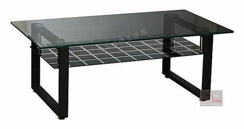 【尚品傢俱】229-12 瓦力 強化玻璃大茶几/家庭大方几/家常會客桌/居家長桌