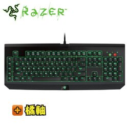雷蛇Razer BlackWindow Ultimate(Stealth)  2016 黑寡婦終極版 機械鍵盤/橘軸中文(茶軸手感)/綠色背光/USB擴充/RZ03-01702400 ★可刷卡分期零利率★