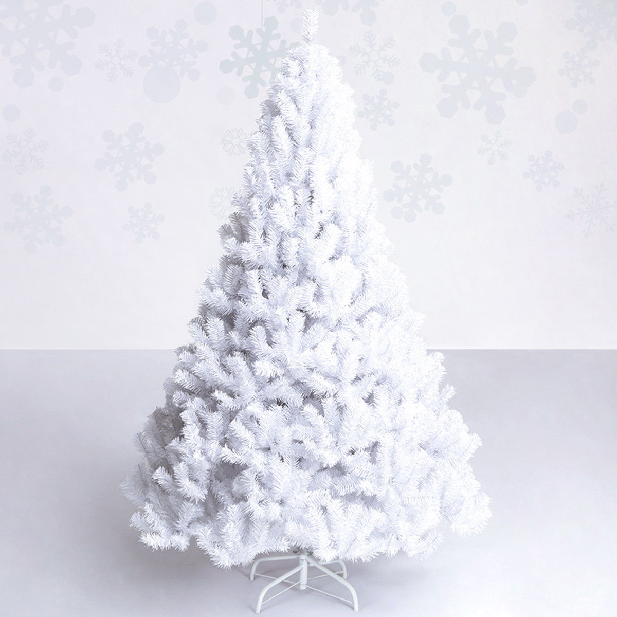 2 Ft White Christmas Tree: Costway: Costway 7Ft Artificial PVC Christmas Tree W/Stand