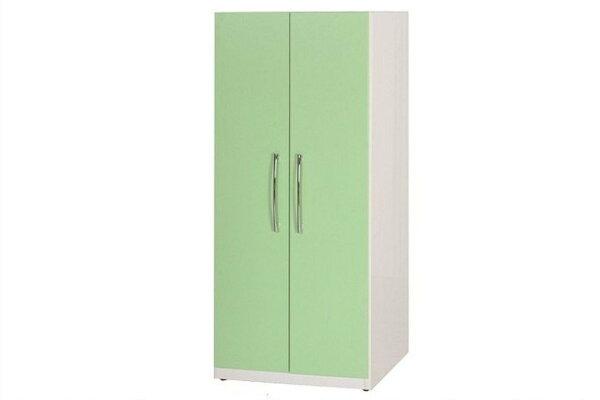 【石川家居】829-04(綠白色)衣櫥(CT-111)#訂製預購款式#環保塑鋼P無毒防霉易清潔