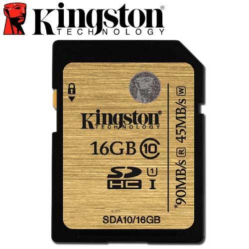 Kingston 金士頓 16GB 90MB/s SDHC SD UHS-I U1 C10 記憶卡