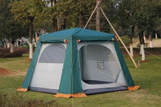 高CP值 高防風防雨二房一廳 4~6人高級帳篷/ 4人帳篷/6人帳篷