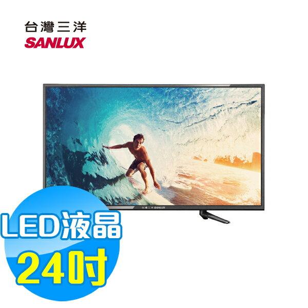 SANLUX SANYO 台灣三洋 24吋LED液晶顯示器 液晶電視 SMT-24MA1(含視訊盒)
