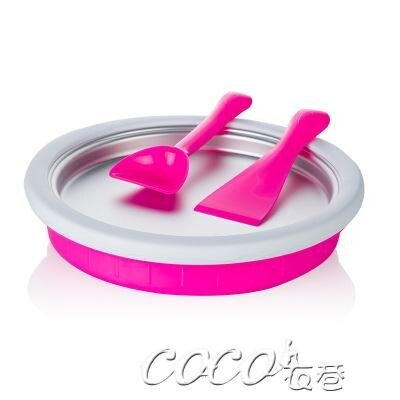 冰激凌機 炒酸奶機家用冰激凌機炒冰機diy冰淇淋機自制炒冰盤炒冰機冰棒機220