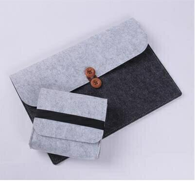 筆電包 小米air12 13電腦包13.3超級本保護套12.5寸毛氈筆記本內膽包配件