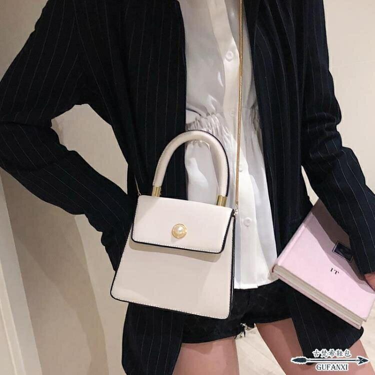 手提包 高級感洋氣女包新款潮百搭斜背包質感單肩時尚
