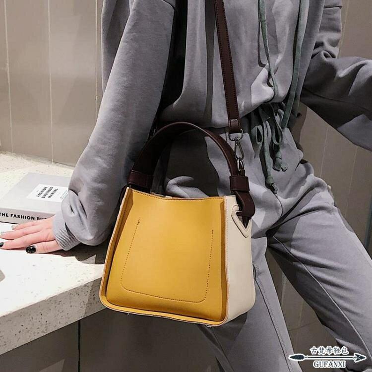手提包 高級感洋氣女包新款潮百搭斜背包單肩簡約時尚
