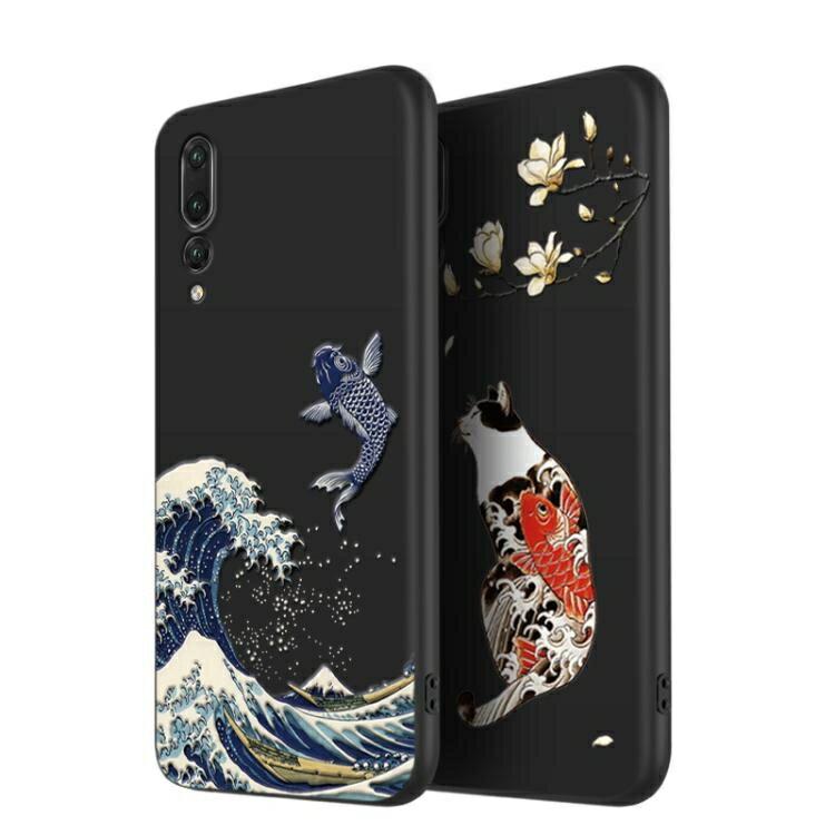 法拉貝拉華為mate20pro手機殼硅膠p20中國風復古國潮mate20個性創意20X保護套