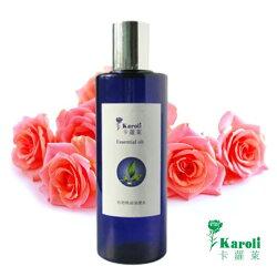 Karoli卡蘿萊 天然玫瑰純露花水 250ml 晶露
