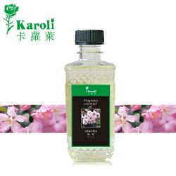 【karoli卡蘿萊】300ml裝自然揮發精油 櫻花精油 藤條 瓷花用 花香系列