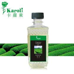 【karoli卡蘿萊】超高濃度水竹擴香竹補充液 300ml綠茶精油(森林系列) 藤條 瓷花用