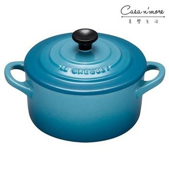 Le Creuset 陶瓷小烤盅 加勒比海藍 200ml