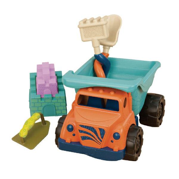 美國 B.TOYS 沙子一卡車/海灘玩具
