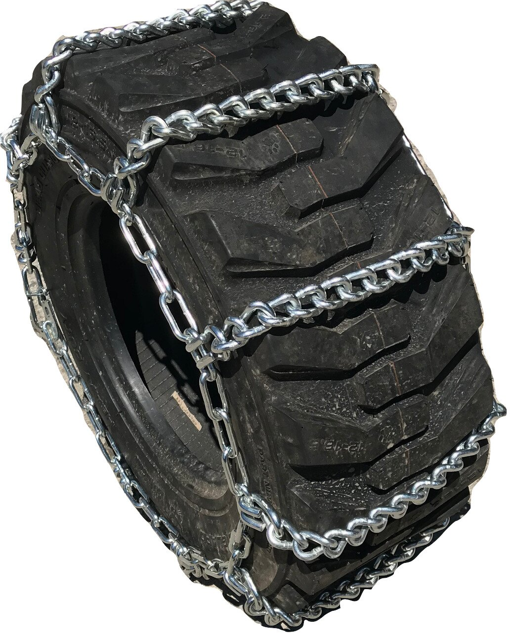 TireChain com Kubota STW37 9 5-24 Tractor Tire Chains