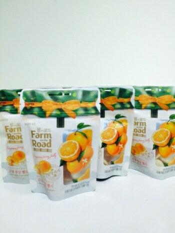 韓國 夯 Farm Road軟糖 橘子口味40g
