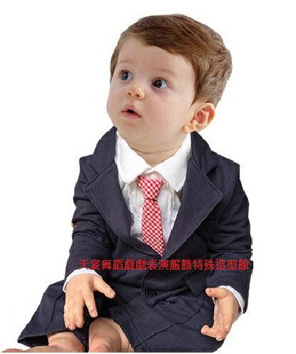 BABY BOY 202嬰幼兒男寶寶造型服連身套裝