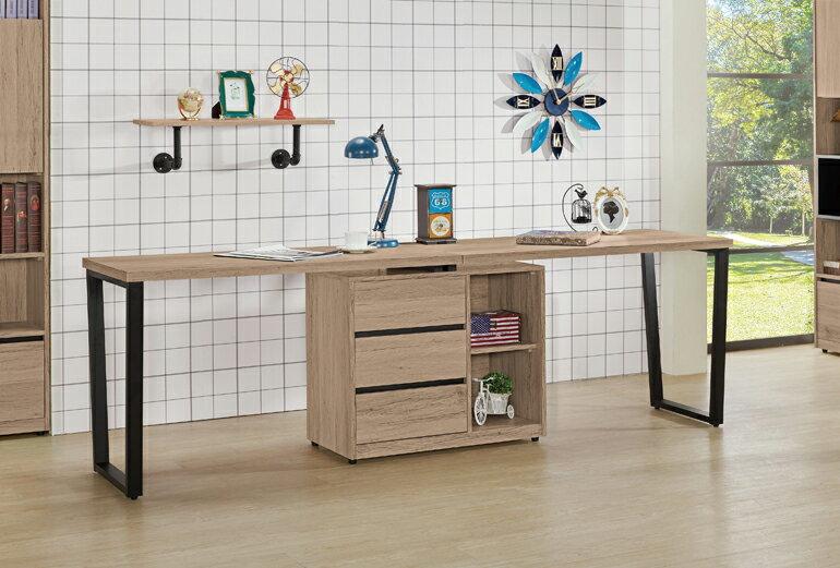 【九日木作】祖克柏(一)5.8尺多功能組合書桌(全組)(不含椅子)(E)