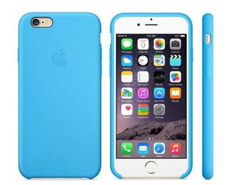 APPLE iPhone 6 4.7吋 藍 原廠矽膠護套 保護套