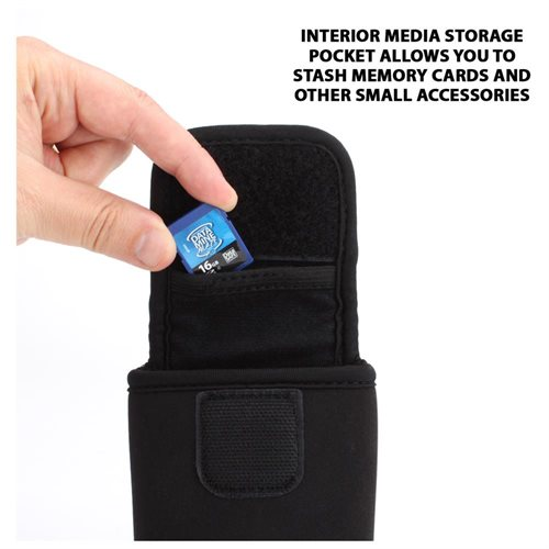 Wireless Presenter Remote Case with Protective Neoprene , Belt Loop & Carabiner Clip by USA GEAR 2