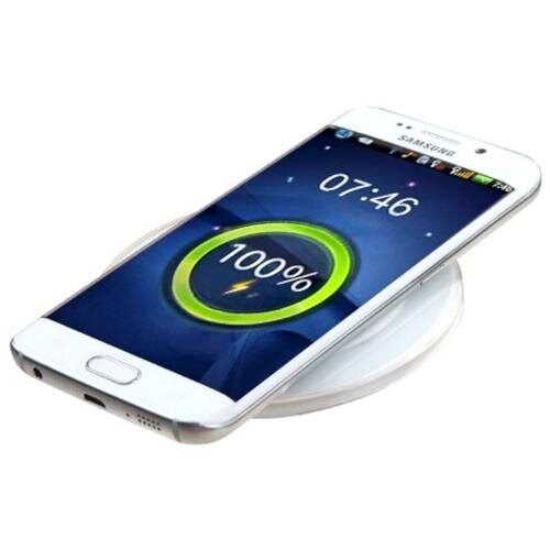 Insten For Samsung Galaxy S6 & S6 Edge Qi Wireless Charger Charging Plate Pad (with Pakage) - White 2
