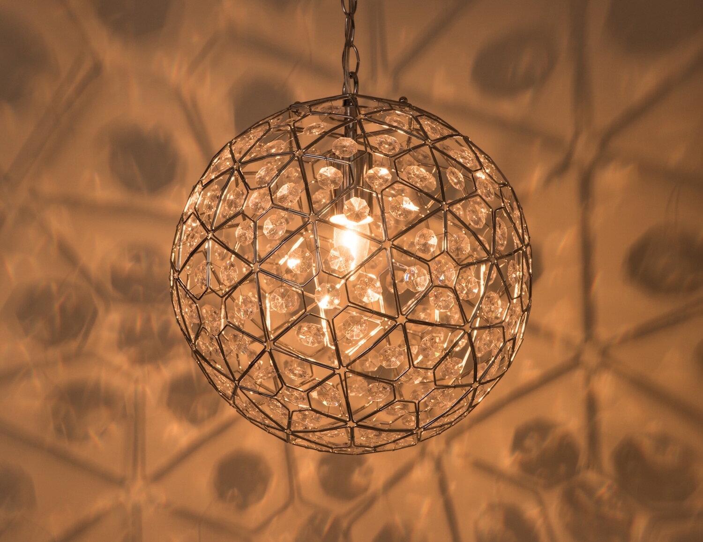圓形幾何圖案壓克力吊燈-BNL00069 1