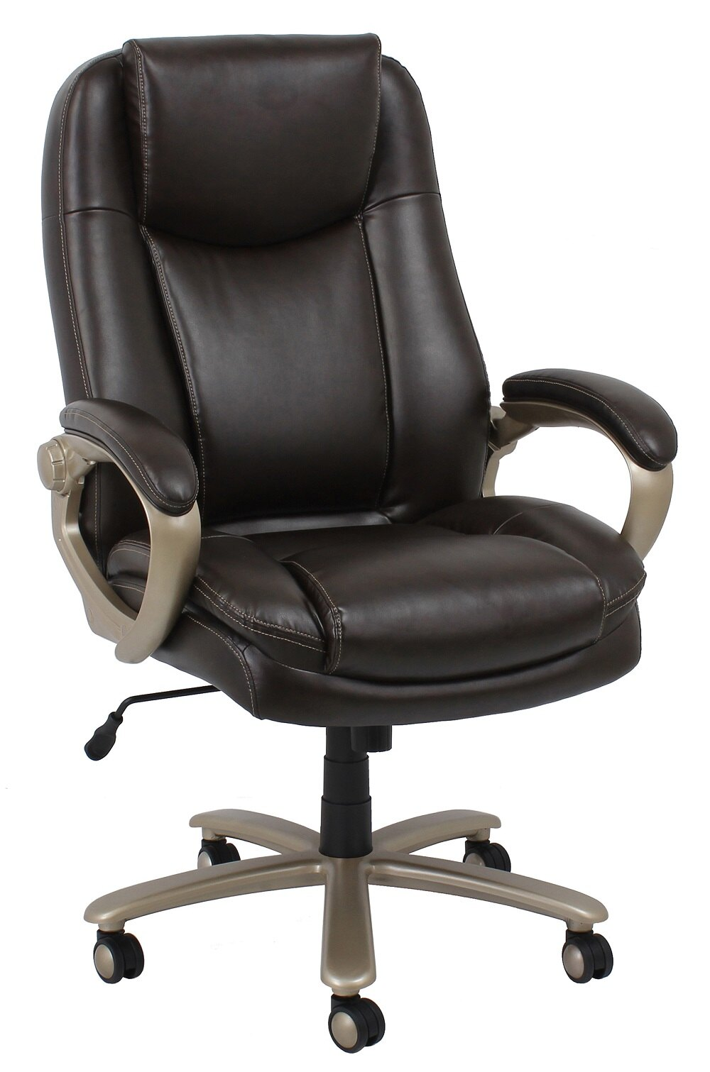 Essentials By Ofm Ess 201 And Tall Leather Executive Office Chair With Arms